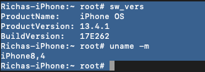 root access of iOS