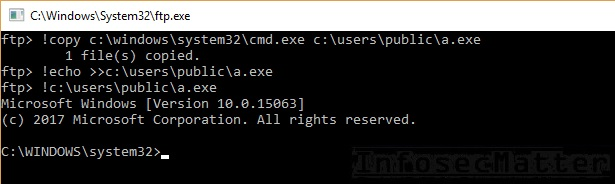 copy of cmd append newline